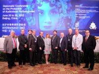 FIM delegation of Beijing Diplomatic Conference