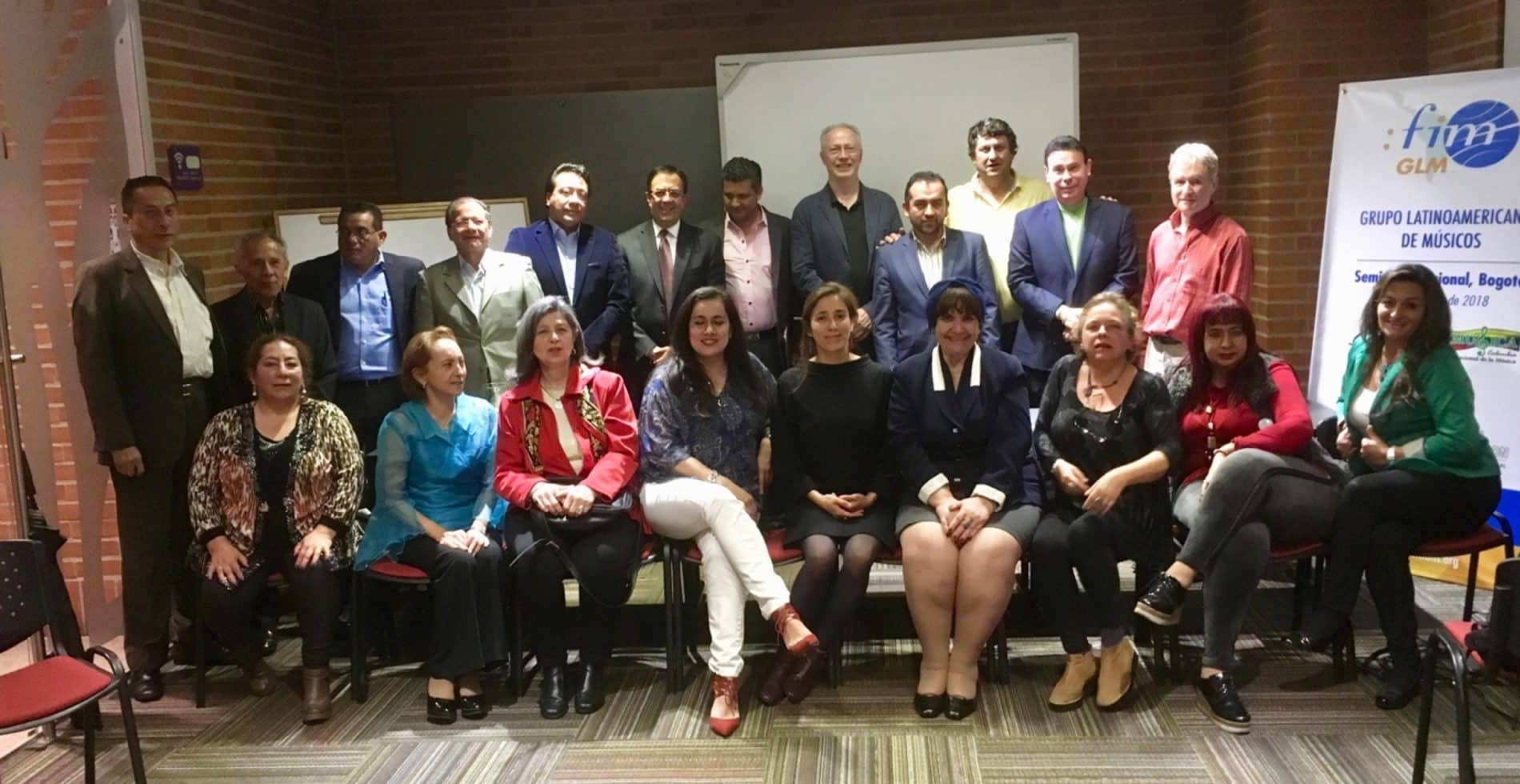 Group photo of the Bogota regional seminar, Nov. 2018