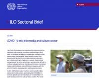 ILO brief on covid-19 and the media and culture sector