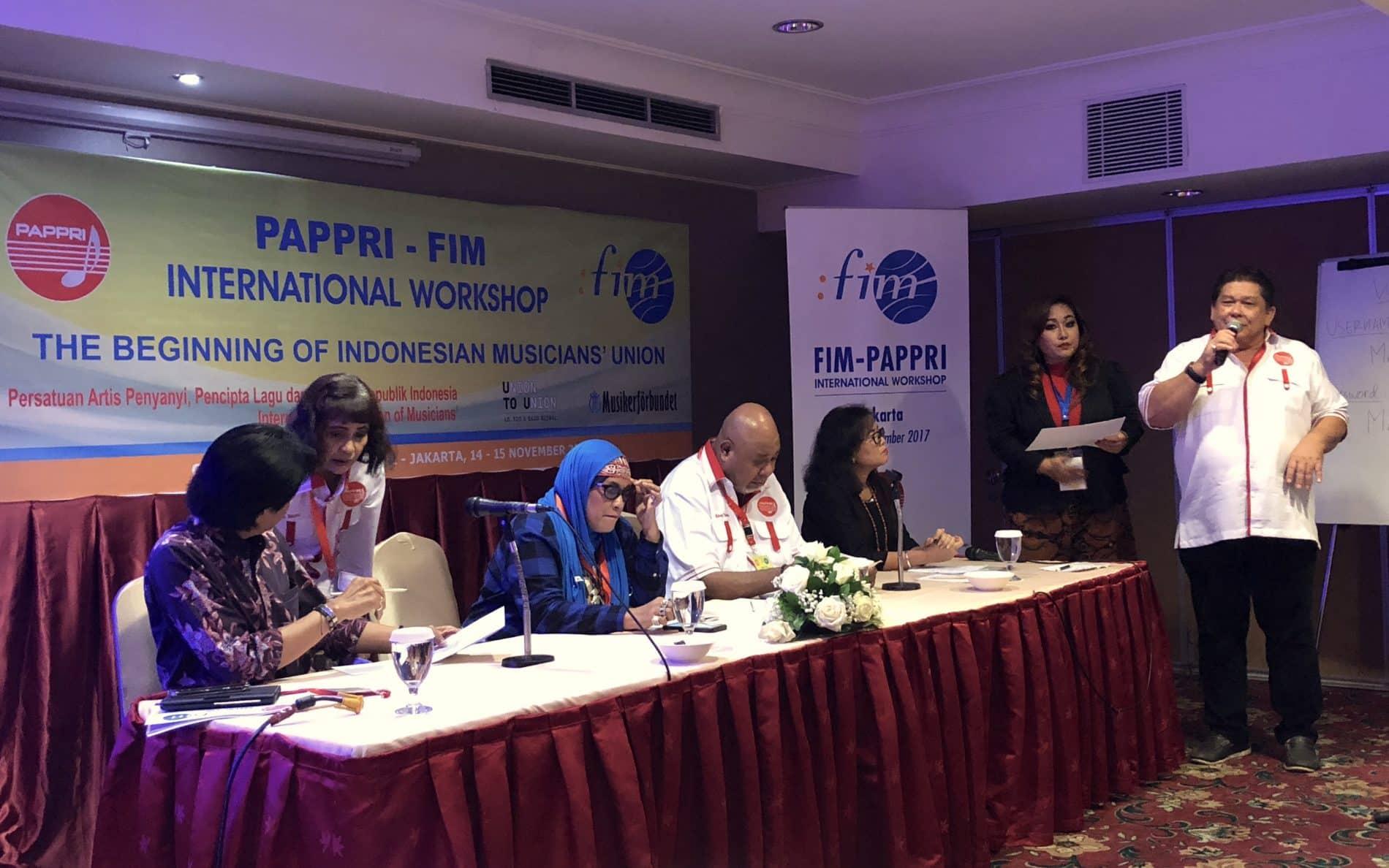 FIM Jakarta workshop Nov. 2017