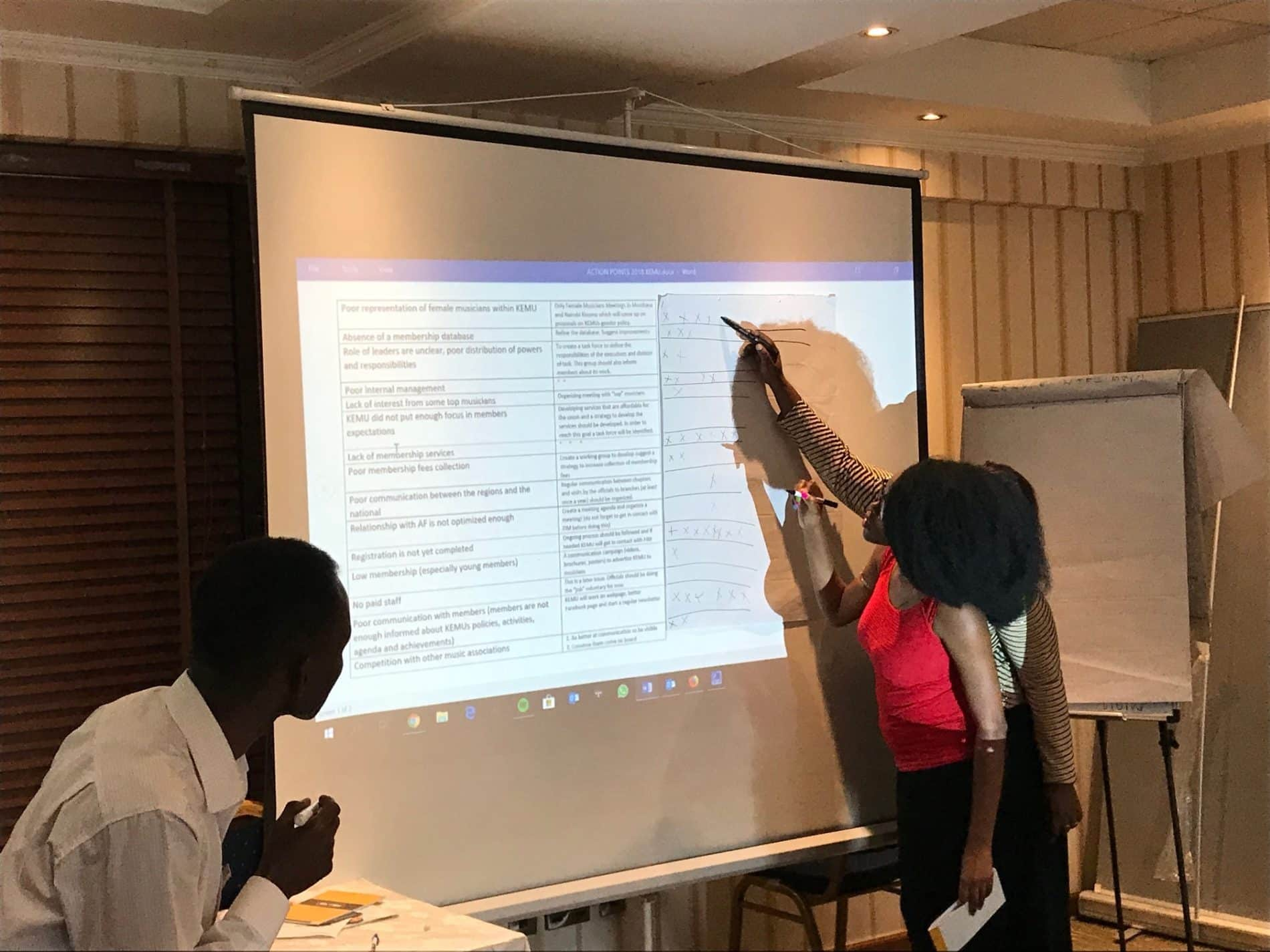 FIM workshop in Nairobi, Sept. 2018