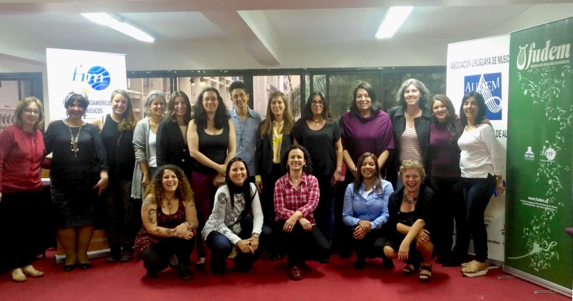 Montevideo regional workshop on gender equality: group photo