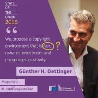 Commissioner Oettinger